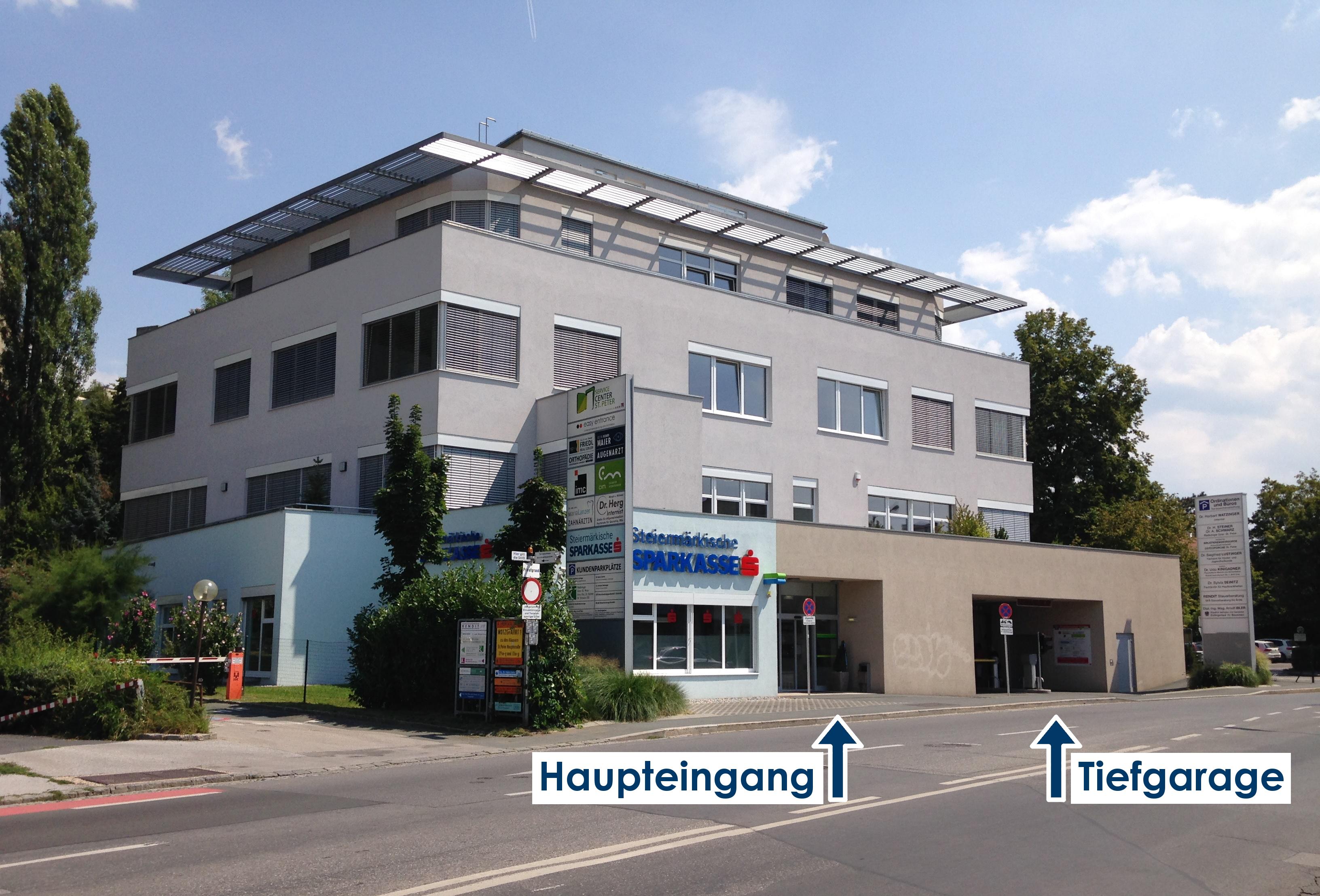 Gebäude in der St. Peter Hauptstraße 27/I