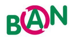 Logo: B A N Sozialökonomische BetriebsgmbH