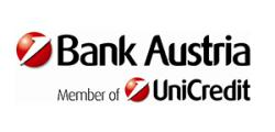 Logo Bank Austria Member of Uni Credit