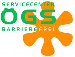 Logo Servicecenter ÖGS barrierefrei